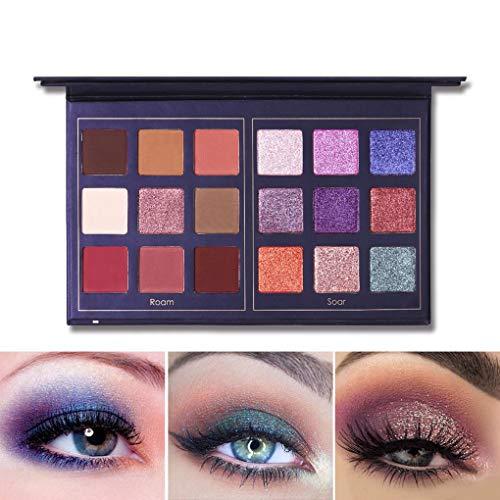 LEVEL GREAT18 Farben Lidschatten-Verfassungs-Paletten-Matte Tablett 18 Farben schimmern Gesicht...