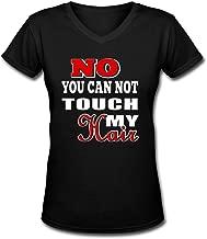 Tuoneng Womens T Shirt for Women No You Cannot Touch My Hair Tee Shirts