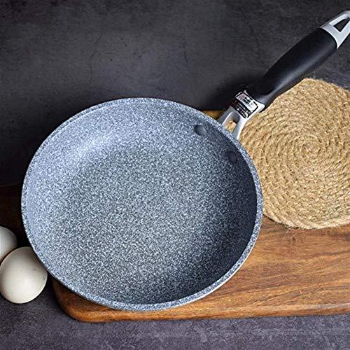 IUYJVR Sartén Antiadherente de Aluminio Forjado Sartén Antiadherente con Revestimiento de cerámica Fácil Limpieza para Cocina de inducción Estufa de Gas