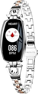 ALOVEMO 2019 New Fitness Tracker Waterproof Smart Watch Pedometer H8 Color Screen Blood Pressure/Heart Rate Monitor Smart Bracelet Watch