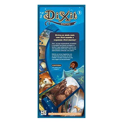 Dixit Journey: Expansão, Galápagos Jogos, Multicor