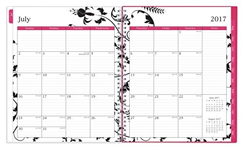 """Blue Sky 2017-2018 Academic Year Monthly Planner, Twin-Wire Bound, 8"""" x 10"""", Analeis Photo #3"""