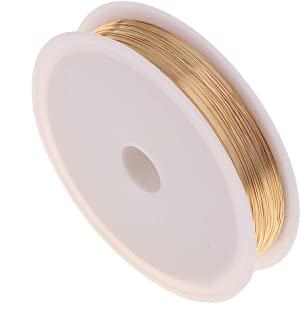10 Rolls 0.3MM Rose Gold Versatile Copper Wire Jewelry Making Wire /& DIY CO-0102-03)
