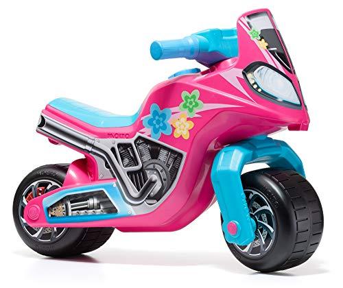 Moto correpasillos Molto Cross Race Rosa