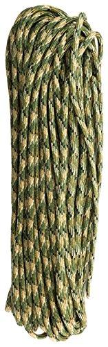 『TOUGH-GRID 750ポンド(耐荷重340kg) ミルスペックパラコード 50フィート 11芯 (フォレストカモ)』の2枚目の画像