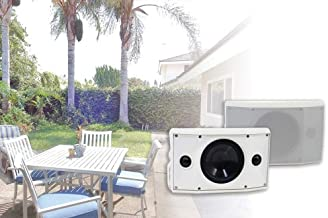 SpeakerCraft OE DT6 One - Outdoor Elements Dual Tweeter Speaker - Each (White)