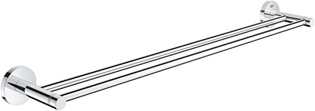 Grohe 40802001 Essentials Double Towel Rail, 600 mm