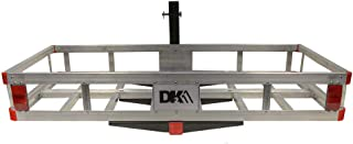 HCC502A Aluminum Hitch Mounted Cargo Carrier