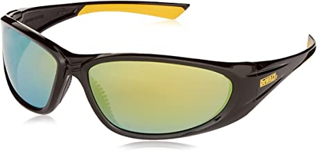 Radians DPG98-YD DeWalt Gable Safety Glasses with Yellow Mirror Lens