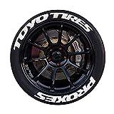 Pegatinas de rueda de neumáticos de coches, protección de