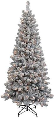 Kurt S. Adler TR70601FPLC Artifical Tree, Green/White