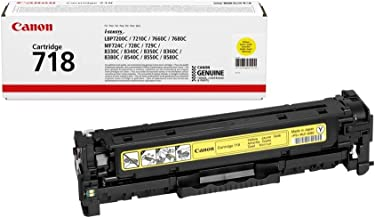 Suchergebnis Auf Für Canon Toner Cartridge 718 Y Yellow