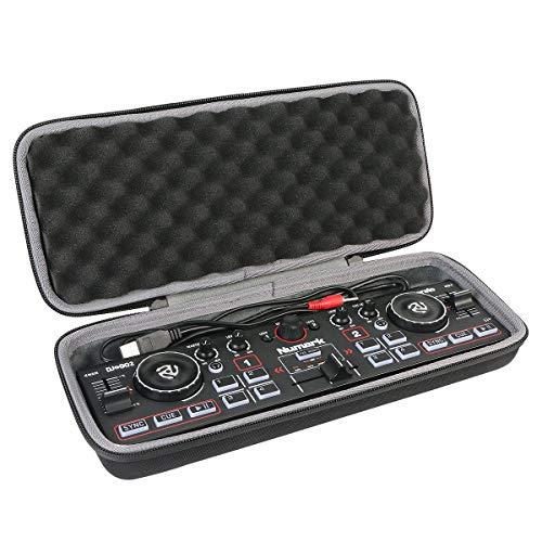 co2CREA Hart Tasche für Numark DJ2GO2 / DJ2GO2 Touch Ultra-portabler 2-Kanal DJ Controller Hülle Case Tragetasche (Nur Hülle)