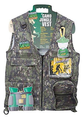 Backyard Safari Jungle Camo Cargo Vest