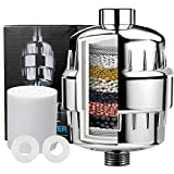 ZWOOS Shower Filter ,High Output Shower Water Filters for Hard Water Treatment ,