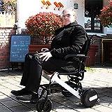 LOLRGV Elektrischer Rollstuhl Intelligenter automatischer explosionssicherer Reifen-Lithium-Batterie-älterer Roller -