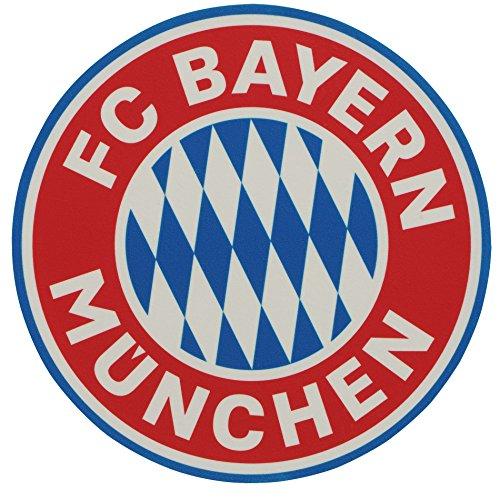 Tortenaufleger FC Bayern MÜNCHEN kompatibel + gratis Sticker München Forever, Essbarer Torten - Aufleger, Pie-Chart, FCB