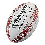 Memoria Rugby Squad Training Balón de Rugby, color negro