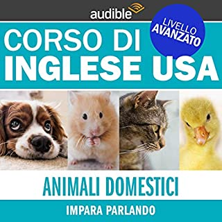 Animali domestici (Impara parlando) copertina