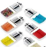 100 capsule e dispenser con aroma al mentolo, filtro per sigarette al mentolo, capsule fai da te, capsule con aroma di filtro, 500 capsule