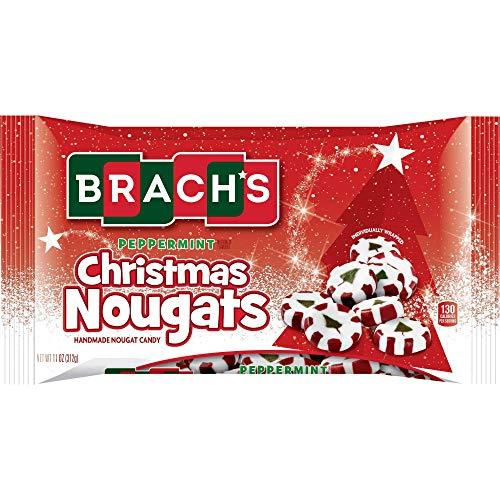 Brach's Peppermint Christmas Nougat, 11 Ounces
