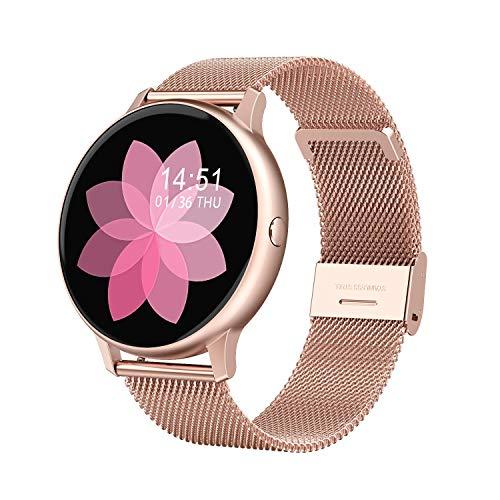 Fitness Armband, LC.IMEEKE Smartwatch Wasserdicht IP67 Fitness Tracker mit Pulsmesser 1,3 Zoll Farbbildschirm Aktivitätstracker Schrittzähler Pulsuhren Fitness Uhr Smart Watch für Damen Herren