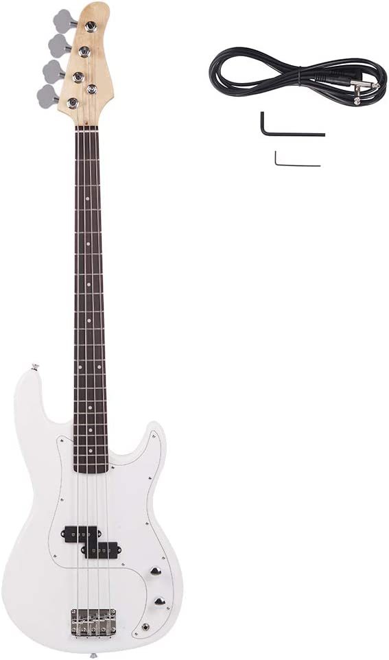 Exquisite burning Challenge the lowest price of Max 51% OFF Japan fire style bass electric (whiteïguitar