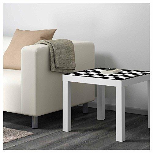 Vinilo para Mesa IKEA Lack Personalizada Tablero Ajedrez clásico ...