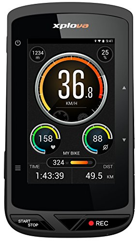 Xplova X5 Smart Bike GPS Ordinateur