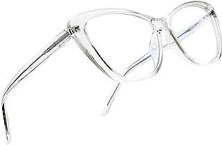 Leaead Blue Light Blocking Glasses BluErase Lens Cat Eye Anti Eyestrain Anti-UV Computer/Gaming/TV/Phones Glasses for Women/Men