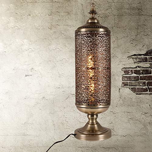 JIAHONG Lámpara de mesa de Lámparas de mesa, personalidad simple lámpara industrial de la vendimia, Restaurante café de la barra de hierro dormitorio de la lámpara, Reading luz de la noche