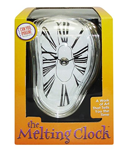The Melting Clock Can You Imagine Geschmolzene Uhr