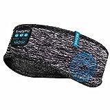 Sleep Headphones Bluetooth Headband, Wireless Sleep Earbuds, Bluetooth Headband Headphones Headsets with 0.26 Inch Thin Speakers, Sleeping Headphones for Workout, Yoga, Travel, Gift for Men Women