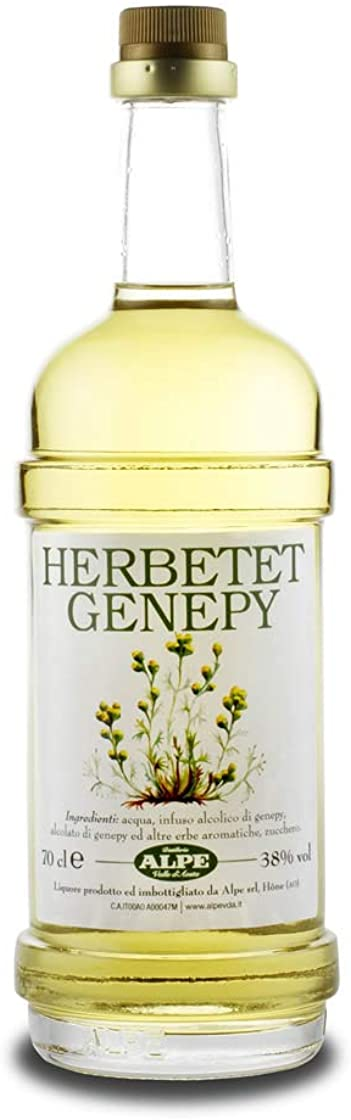 Liquore alpino herbetet genepy alpe cl 70 B00Z2SFFXW