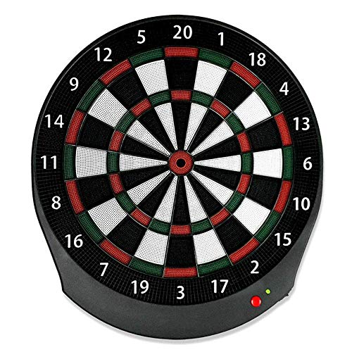 RVTYR Dartscheibe Set Elektronische Dartscheibe Set Dart Ziel Netzwerk Bluetooth Dart Board mit 6 Darts Blau Geeignet for Office Home dartscheibe elektronisch ultrasport