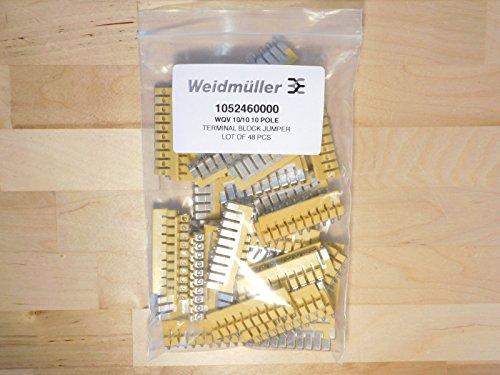 Querverbinder WQV 10/10 1052460000-1 Gelb Weidmüller 1 St.