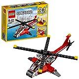 LEGO- Creator Elicottero di Soccorso Costruzioni Piccole Gioco Bambina Giocattolo, Multicolore, 31057