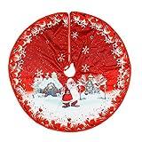 Falda para árbol de Navidad – Cubre pie árbol Navidad decoración de Navidad para árbol de Navidad