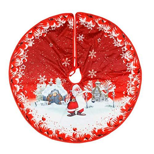 Trees Skirt Christmas Tree Skirt Ornament 39 Inch Diameter Christmas Tree Bottom Decoration Home & Garden Home Decor Christmas for Faclot