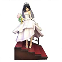 Date A Live:Nightmare Tokisaki Kurumi Action Figure (Wedding Version With Stairs) Anime Toy About 9.05 Inch