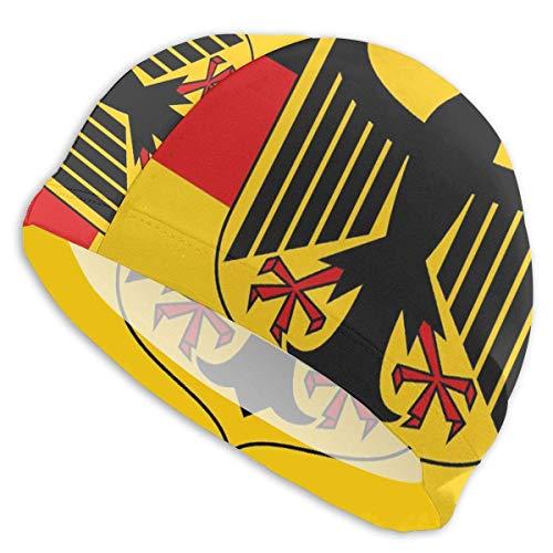 YYRR Badekappe Deutschland Flagge Badekappe Badekappe