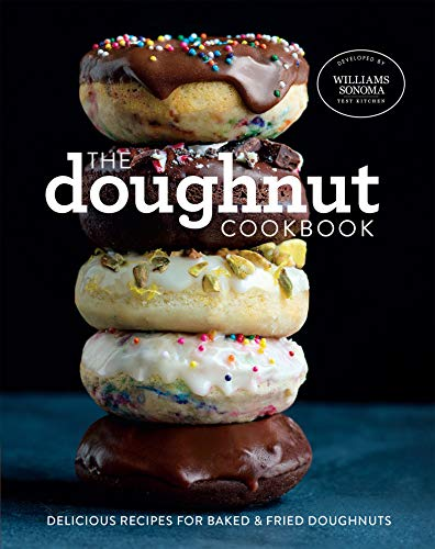 The Doughnut Cookbook: Delicious Recipes for Baked & Fried Doughnuts (English Edition)