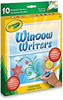 Crayola 56-9704 Washable Window Markers, Craft Supplies, Drawing Gift for Boys and Girls, Kids, Teens Ages 5, 6,7, 8 and Up