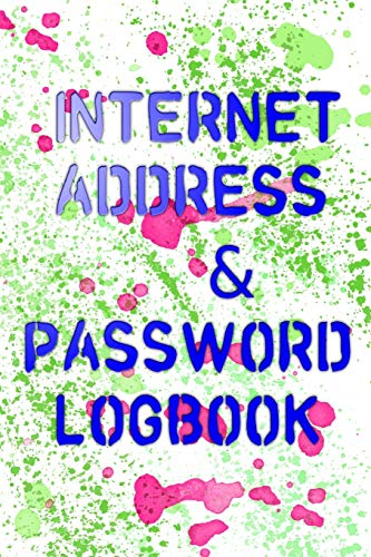 Username And Password Book: Sorry Your Password Must Contain Size 6 X 9 Inch ~ Tracker - Large # Tracker ~ Matte Cover Design 110 Page Fast Print.