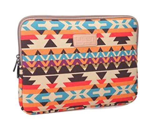 """Bohème Laptophülle Tasche für Notebook Ultrabook Schutzhülle Laptoptasche Hülle Case Notebooktasche Sleeve 11.6\"""" Orange"""