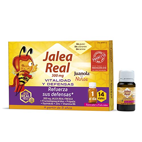 Juanola - Jalea Real para Niños, 14 Viales