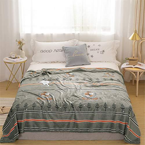 Fansu Kuscheldecke Flanell Flauschige Decke,Extra Weich Wohlig Microfaser Moderne Einfachheit Drucken Große PlüschKuscheldecke Tagesdecke für Schlafzimmer Camping (120x200cm,Rom)