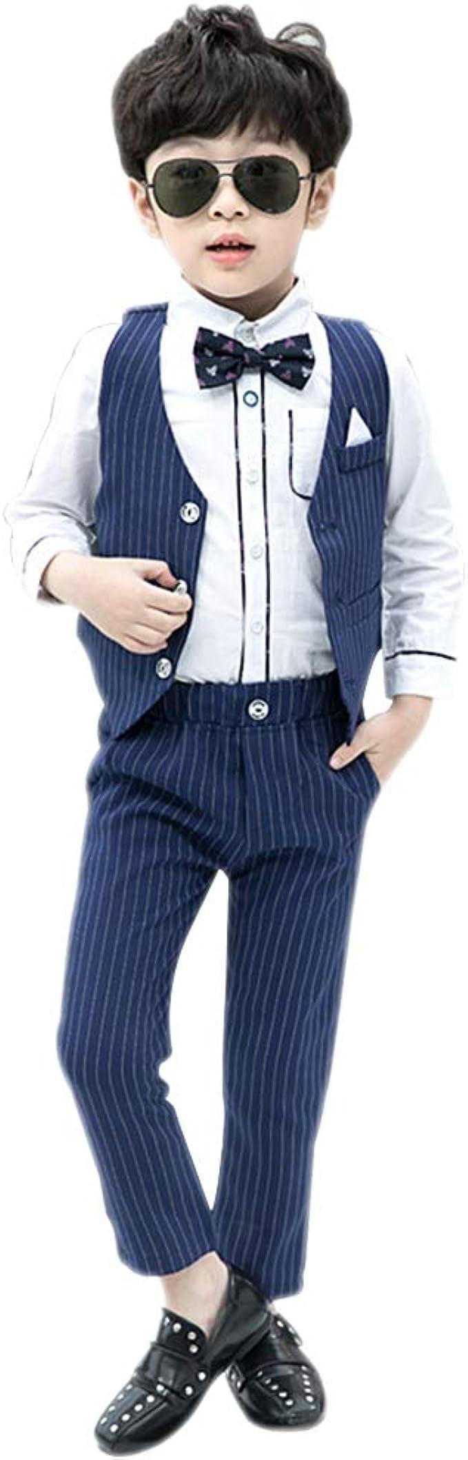 BOZEVON Kinder Jungen Anzug   Mode Kinder Bekleidungssets ...