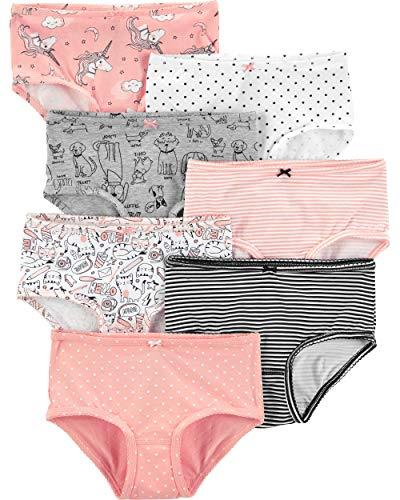 Carters Girls Little 7-Pack Underwear