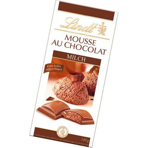 Lindt Mousse au Chocolat, Milch